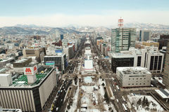 Odori Park (Sapporo) royalty free stock photography