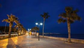 Odos Poseidonos, Paphos, Cyprus Royalty Free Stock Images