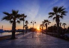 Odos Poseidonos, Paphos, Cyprus Stock Photos
