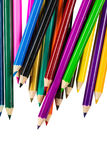 odosobneni colour ołówki obraz royalty free