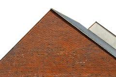 Odosobneni dachy nowożytni domy Fotografia Royalty Free