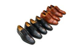 odosobneni męscy buty Fotografia Stock