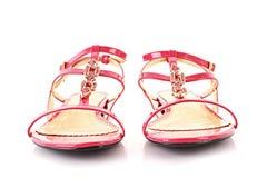 odosobneni sandały Fotografia Royalty Free
