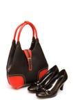 odosobneni torba buty Zdjęcie Royalty Free