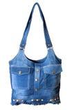 odosobneni torba cajgi Zdjęcie Royalty Free