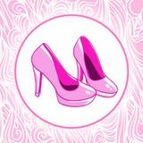 Odosobneni wysocy wzgórze buty Zdjęcie Royalty Free