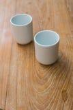 Odosobnienie herbaciana filiżanka zdjęcie stock