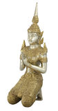 odosobniona ścieżki modlitwy statua Obrazy Royalty Free