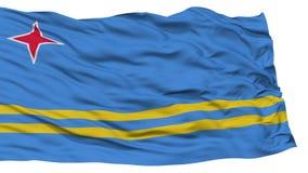 Odosobniona Aruba flaga Obraz Royalty Free