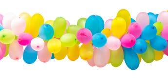 Odosobniona balonowa dekoracja Fotografia Stock