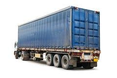 odosobniona ciężarówka fotografia royalty free