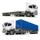 odosobniona ciężarówka obraz royalty free