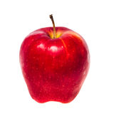 Odosobniona czerwona jabłczana owoc Obraz Stock