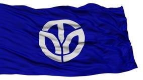 Odosobniona Fukui Japonia prefektury flaga Obrazy Royalty Free