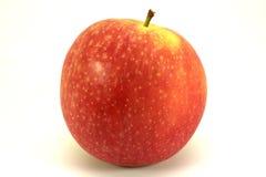 odosobniona jabłko czerwień Zdjęcia Stock