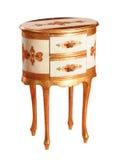 odosobniona luksusu stołu toaleta Zdjęcia Royalty Free