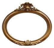 Odosobniona lustro rama, ornamentacja, Drewniany materiał fotografia royalty free