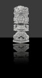 odosobniona meksykańska statua Zdjęcie Stock