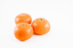 odosobniona owoc pomarańcze Obrazy Royalty Free