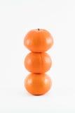 odosobniona owoc pomarańcze Zdjęcia Royalty Free