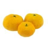odosobniona owoc pomarańcze Zdjęcie Royalty Free