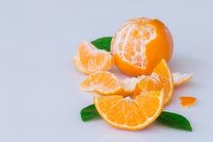 odosobniona owoc pomarańcze Obrazy Stock