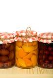 odosobniona owoc zakonserwowany półka Zdjęcie Stock