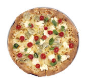 Odosobniona pizza obrazy royalty free
