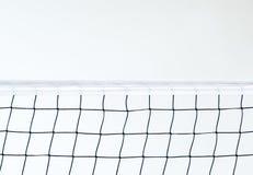Odosobniona siatkówki sieć na plażowym tle, sport aktywność w wakacje letni zdjęcie royalty free