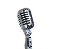 odosobnione rocznik mikrofonu Zdjęcia Stock