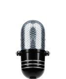 odosobnione rocznik mikrofonu Obrazy Stock