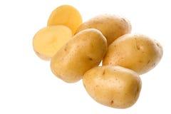 odosobnione ziemniaki obrazy stock
