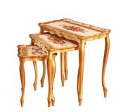 odosobnionego deseru 3 stołu Zdjęcia Stock