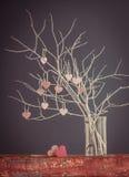 odosobnionego loga miłości przedmiota znaka drzewny warianta wektor Fotografia Royalty Free