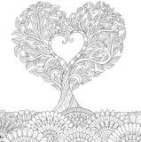 odosobnionego loga miłości przedmiota znaka drzewny warianta wektor ilustracja wektor