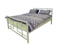 odosobniony łóżko biel Obrazy Royalty Free