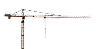 Odosobniony żuraw z długą ręką Zdjęcie Royalty Free