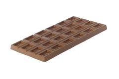 odosobniony czekolada biel Obrazy Stock