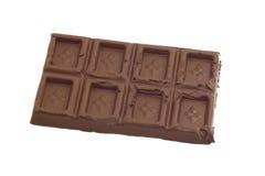 odosobniony czekolada biel Zdjęcie Stock