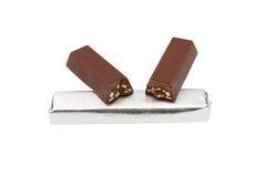 odosobniony czekolada biel Obraz Royalty Free