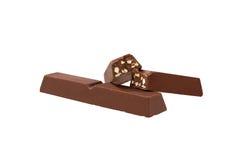 odosobniony czekolada biel Fotografia Royalty Free