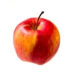 Odosobniony czerwony jabłko zdjęcia royalty free