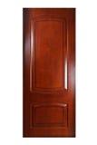 odosobniony drzwi biel Obrazy Royalty Free