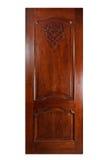 odosobniony drzwi biel Fotografia Stock