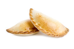 odosobniony empanada biel Zdjęcie Stock