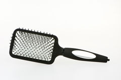 Odosobniony Hairbrush Obrazy Stock