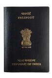odosobniony Hindusa paszport Obrazy Royalty Free