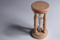 Odosobniony Hourglass liczenia puszek II Obraz Royalty Free