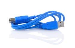 odosobniony kabla usb Obraz Stock