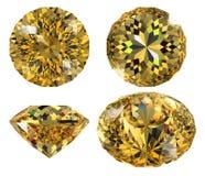 odosobniony klejnotu kolor żółty Obrazy Royalty Free